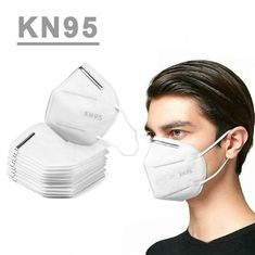 Anti Droplet KN95 Face Mask , Adult Disposable Dust Respirator With CE FDA Apprvoal