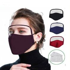 2020 new cotton face mask with Goggles